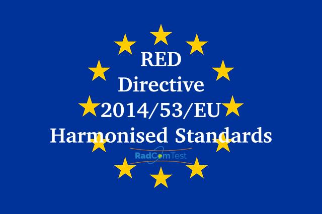 RED Direktifine bağlı Uyumlaştırılmış standartlar